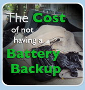 The Cost of not having a Battery Backup